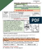 ACTIVIDAD N° 4 CIENCIA Y TECNOLOGIA VIERNES 02 DE JULIO