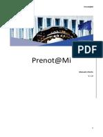 Manual de usuario Prenotami
