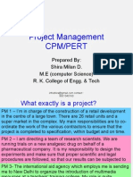 Project Management & CPM
