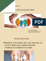LOS PRINCIPIOS DEL SERVICIO DE SALUD HUMANIZADO