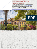 Cultura & Società in Capitanata N. 40 Del 03-07-2021