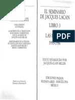 Lacan- El Seminario 3- Las Psicosis- Cap. 23
