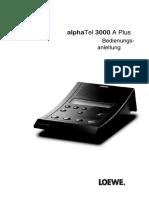 Loewe Alpha Tel 3000 a Plus