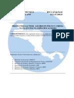 2) RTCA 67.04.76.18 Productos lacteos