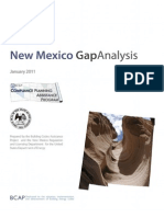 New Mexico Gap Analysis Report