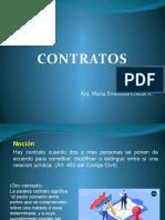 Contratos en general y Contrato de obra