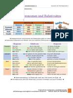 Relativpronomen - Erklärung