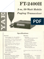 FT-2400H Instruction Manual