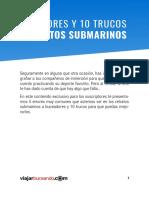 Retrato Submarino Trucos y Errores_viajarbuceando