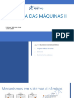 Dinamica Das Maquinas 2 - Aula 10