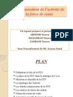 L_organisation de L_activité d La Force de Vente - Exposé (1)