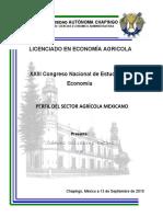 perfil del sector agricola mexicano