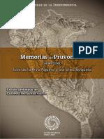 Memorias de Pruvonena-libro