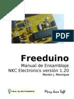Freeduino NKC Electronics Ensamblaje
