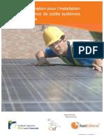 Manuel Pratique de petits systèmes photovoltaïques