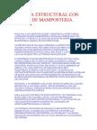 ETABS SISTEMA ESTRUCTURAL CON MUROS DE MAMPOSTERIA