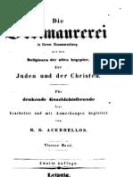 R.S.Acerrellios - Die Freimaurerei in ihrem Zusammenhang [1836] [OCR]
