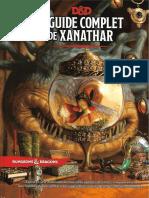 [JDR] D&D 5e - Le Guide Complet de Xanathar