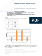 Apuntes. Distribuciones de Probabilidad de Variables Aleatorias Discretas