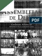 Gedeon Alencar - Assembléia de Deus - Origem Implantação e Militância (1911-1946