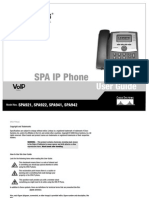 GUIA DE TELEFONO IP PHONE SPA921 LINKSYS