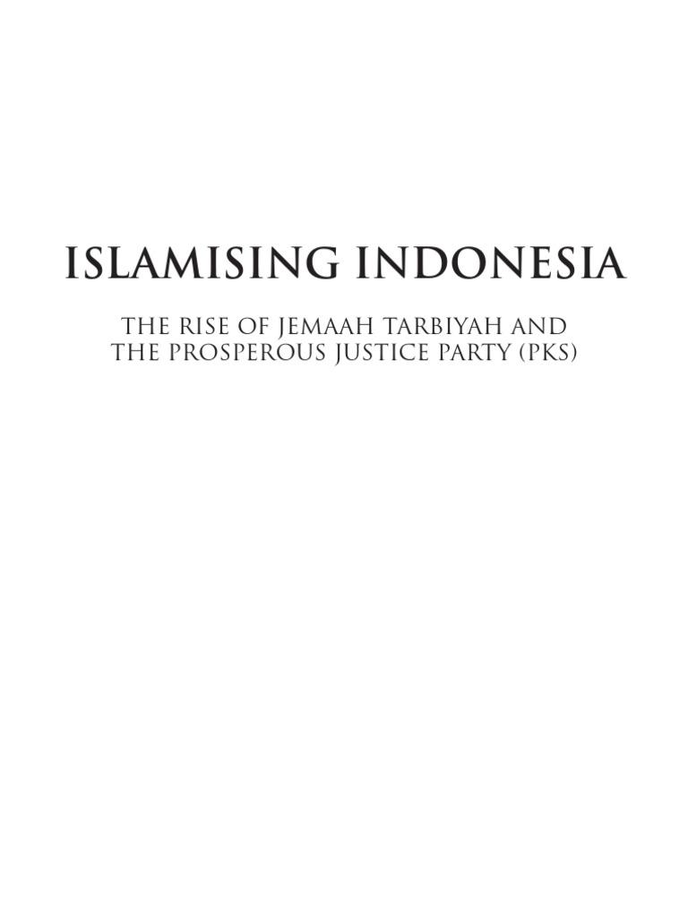 Islamising Indonesia The Rise Of Jamaah Tarbiyah