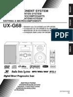 JVC UX-G68