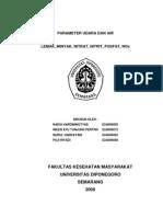 Parameter Udara Dan Air Lemak, Minyak, Nitrat, Nitrit, Fosfat, Nox