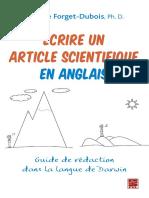 ecrire un article scientifique en ang