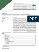 Analysis of Musk Fragrances in Environmental Samples