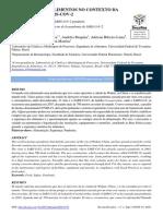 Segurança dos alimentos no contexto da pandemia por SARS-COV-2