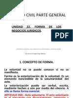 22 PP DC PG UNIDAD 22 Forma Del Acto Juri_dico