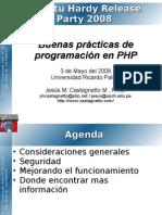 UbuntuParty2008_PHP_Buenas_Practicas