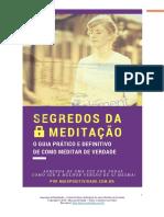 Segredos da Meditação - O Guia Definitivo