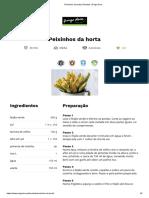Peixinhos da horta _ Receitas _ Pingo Doce