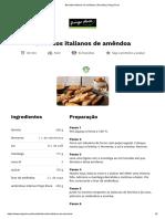 Biscoitos italianos de amêndoa _ Receitas _ Pingo Doce
