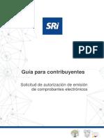 Guía para solicitar autorización de emisión de comprobantes electrónicos 25042020[3052] (1)-1