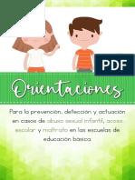 ORIENTACIONES ACOSO, MALTRATO Y ABUSO resumen