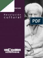 Marcuse, Herbert (2021) - Revolución cultural