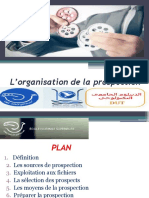 L_organisation de La Prospection