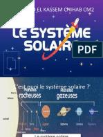 Le système solaire PowerPoint