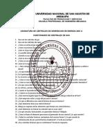 CUESTIONARIO CENTRALES DE GAS Y VAPOR