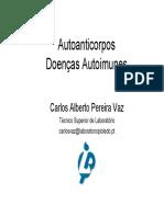 Autoanticorpos em doenças autoimunes