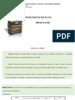 Lectia Nr. 10 Biletul La Ordin