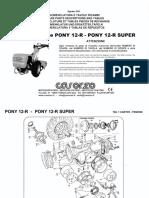 Pony12 Pony 12R Super Esploso