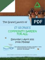 Community Garden A4 Poster