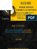 Posiciones tribulacionistas