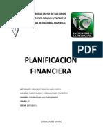 PLANIFICACION FINANCIERA 2