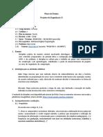 Projetos 2 - Plano de Ensino