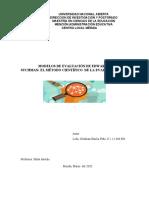 MODELOS DE EVALUACIÓN DE EDWARD A SUCHMAN